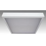 Светильник люминесцентный ЛПО 4х18-CSVT/OPAL-R накладной опаловый ЭПРА