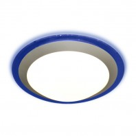 Накладной круглый светильник Marella ALR 16W (синий) (универсальный белый)