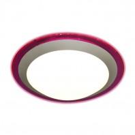 Накладной круглый светильник Marella ALR  16W (фиолетовый) (универсальный белый)
