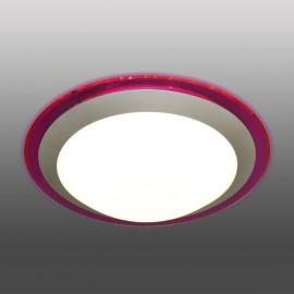 Накладной круглый светильник Marella ALR 22W (фиолетовый) (универсальный белый)