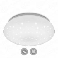 Накладной потолочный светильник светодиодный SATURN 100W 100W R-800-SHINY-220-IP44 без канта