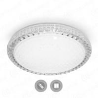 Управляемый светодиодный светильник AKRILIKA SOTA 40W R-405-GRAY/SHINY-220-IP44 матовый акрил
