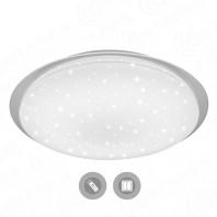 Управляемый светодиодный светильник SATURN 60W R-470-SHINY/WHITE-220-IP44