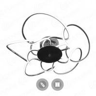 Управляемый светодиодный светильник CAMELIA 120W R-CROME/OPAL-220-IP20