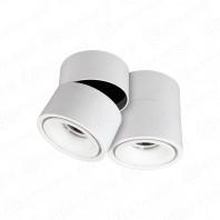 Светодиодный поворотный светильник DRUM 12W R-100-WW-WHITE-220-IP44