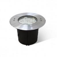 Встраиваемый подводный  светодиодный светильник B4Y0A606-6x3W-WW-30-24V-IP68 симметричный