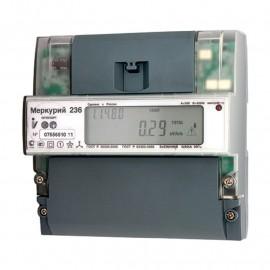 Счетчик электроэнергии трехфазный многотарифный Меркурий 236 ART-01PQRS 60/5А кл1/2 RS485 оптопорт 23 0/400В (236ART01PQRS)