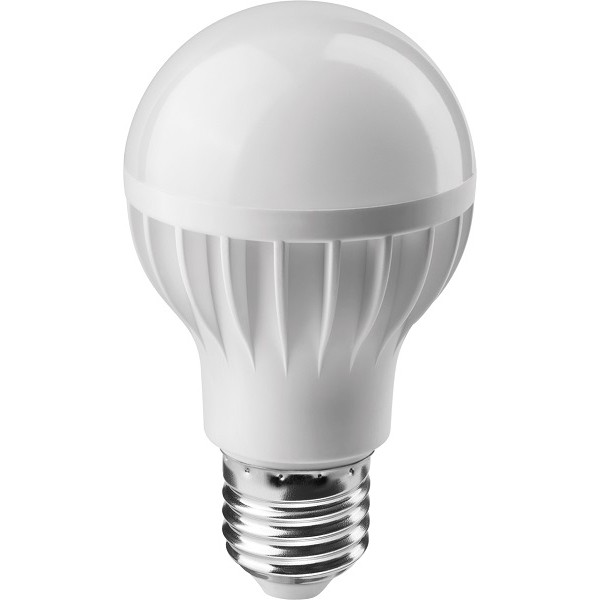 Светодиодная лампа ОLL-A60-10-230-4K-E27/10вт