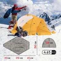 Палатка профессиональная палатка для альпинизма Mircamping VE-25 3-х местная