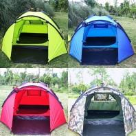 Палатка туристическая 4-х местная автоматическая Mimir Outdoor арт.Mimir-900 (зеленая)