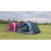 Палатка туристическая 3-х местная автоматическая Mimir Outdoor арт.MIMIR-910 (розовая)