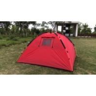Палатка туристическая 3-х местная автоматическая Mimir Outdoor арт.MIMIR-910 (красный)