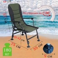 Кресло карповое туристическое Mimir Outdoor DYY