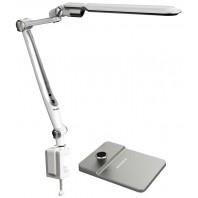 Светильник настольный светодиодный SUPRA SL-TL317 silver + струбцина