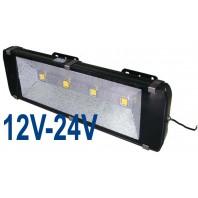 Прожектор светодиодный низковольтный 200Вт (12V-24V) FLU200S Теплый белый