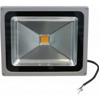 Прожектор светодиодный низковольтный 40Вт (12V-24V) FLU40S Теплый белый
