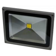 Прожектор светодиодный низковольтный 60Вт (12V-24V) FLU60S Теплый белый