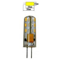 Низковольтная cветодиодная лампа K13-24S G4 DC 12V-24V 1.3Вт