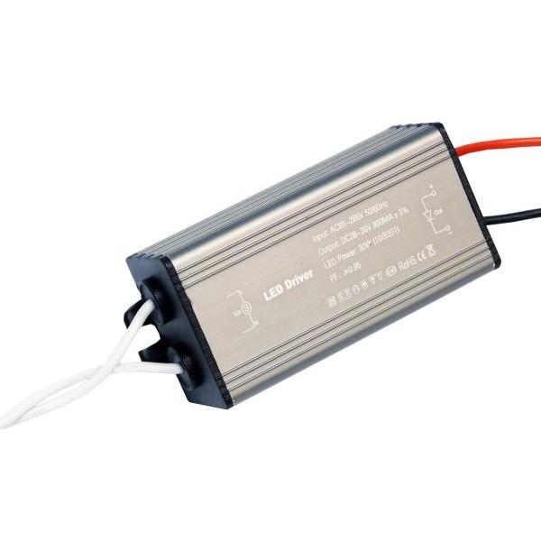 Блок питания (трансформатор) 28-38V 900mA  для светодиодных прожекторов 30W
