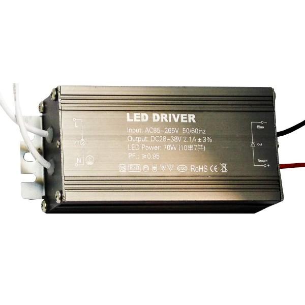 Блок питания (трансформатор) 28-38V 2100mA  для светодиодных прожекторов 70W